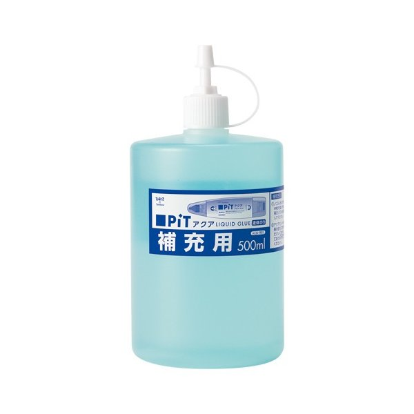 トンボ鉛筆 4901991650266 液体のりアクアピット補充用 PR-WT (1個)