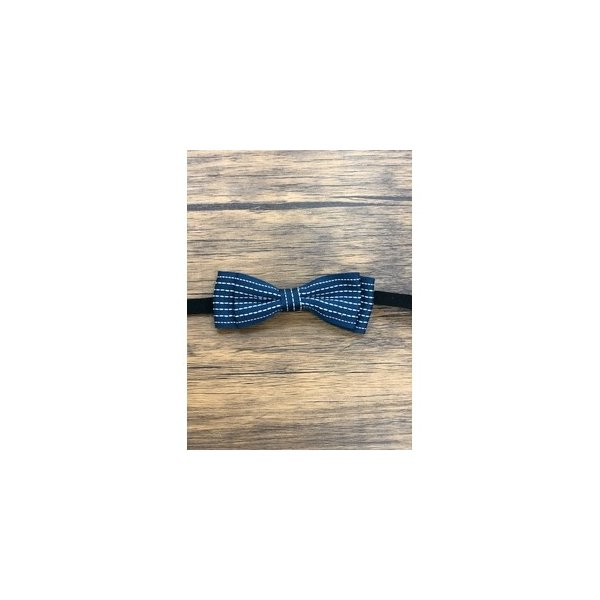 ds-2324062 Pet bow tie(ペットボウウタイ) M ドットライン×ネイビー (ds2324062)