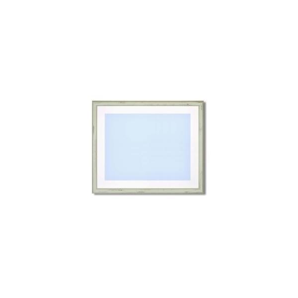ds-2342644 【最高級水彩額】色あせを防ぐUVカットアクリル・マット付き イタリアン水彩額F10 ピスタチオグリーン (ds2342644)