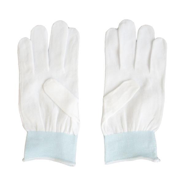【納期目安:1週間】CMLF-6372bo 三高サプライ インナーグローブ やさしインナー手袋 ナイロン指有り 10双入り GI04 (CMLF6372bo)