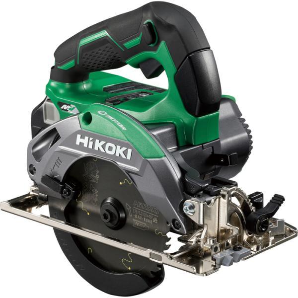 HiKOKI C3605DB(SK)(NN) コードレス丸のこ 際切り対応型 アグレッシブグリーン 蓄電池 充電器 ケース 集じんアダプタ別売り チップソー黒鯱付