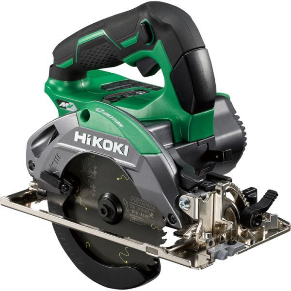 HiKOKI C3605DB(SK)(2XPS) 【職人さん応援キャンペーン!!】36V 125mm コードレス丸のこ 高速7000回転 際切り対応型 アグレッシブグリーン