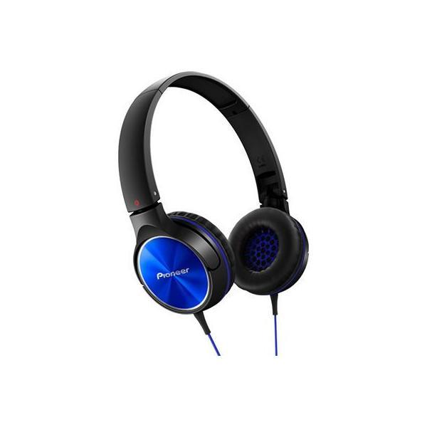 パイオニア 密閉型ダイナミックステレオヘッドホン SE-MJ522-L ブルーの画像