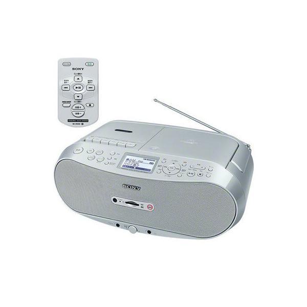 【納期目安:約10営業日】ソニー CFD-RS501 CDラジオカセット メモリーレコーダー (CFDRS501) (CFDRS501)
