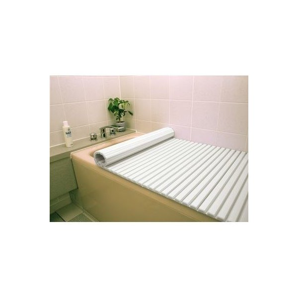 東プレ 4904892012188 風呂ふた シャッター式 (75×150cm用) ホワイト L15 (巻きフタ)