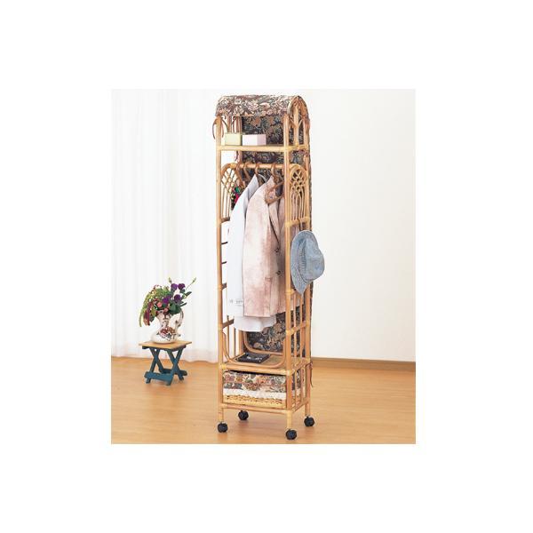 今枝商店 W681 Romantic Rattan ハンガーラック