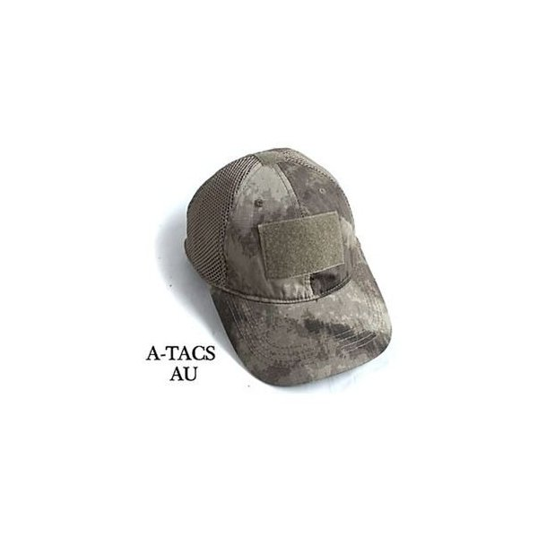 ds-1415580 吸汗速乾 米軍 タイプタクティカル最新鋭 カモメッシュキャップ( 迷彩帽子) HC044YN A-TAC S(AU) 【 レプリカ 】  (ds1415580)