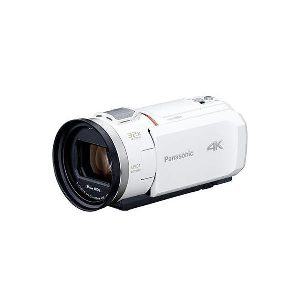 【納期目安:追って連絡】パナソニック HC-VZX1M-W デジタル4Kビデオカメラ 総画素数約857万画素(ホワイト) (HCVZX1MW)
