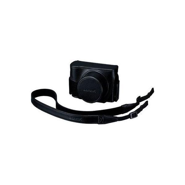 【納期目安:約10営業日】パナソニック DMW-CLXM2-K コンパクトデジタルカメラ DC-LX100M2 専用ケース ブラック (DMWCLXM2K)