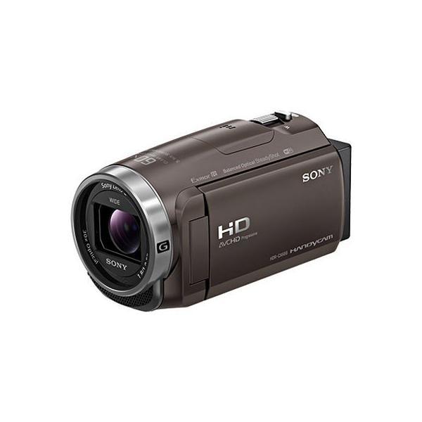 【納期目安:2週間】ソニー HDR-CX680-TI 約251万画素 デジタルHDビデオカメラレコーダー 64GB 光学ズーム30倍 (HDRCX680TI)