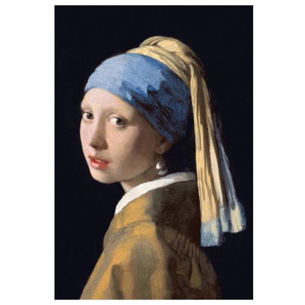【真珠の耳飾りの少女】フェルメール作 ポストカード 絵画 世界の名画|tanukinomori