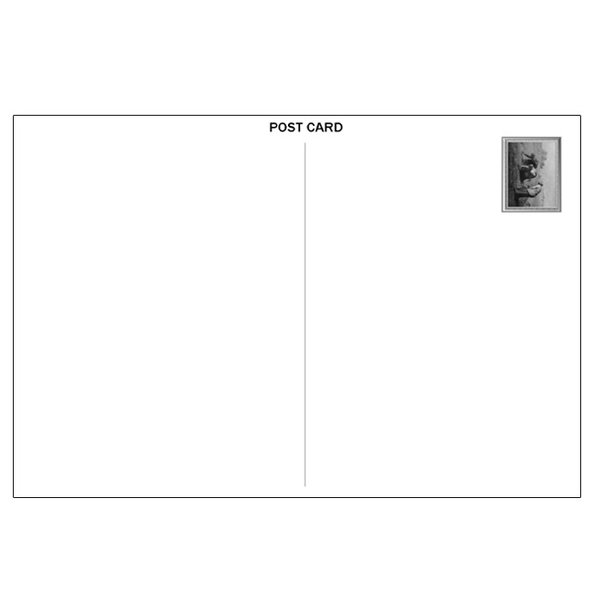 【落穂拾い】ミレー作 ポストカード 絵画 世界の名画 tanukinomori 02