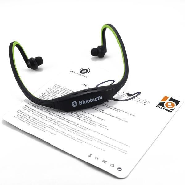 IFS9 スポーツ ステレオ ワイヤレス ブルートゥース Bluetooth ヘッドホン イヤホン for iPhone スマートフォン パソコン タブレット グリーン 緑|taobaonotatsujinpro