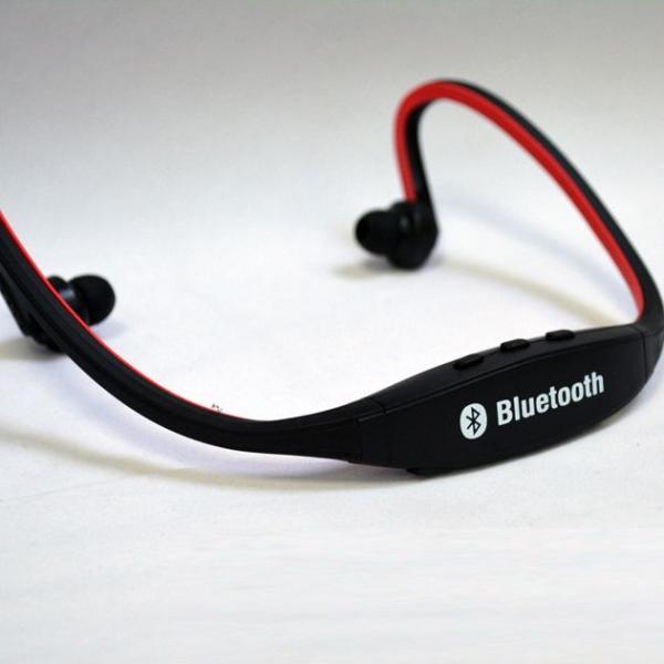 IFS9 スポーツ ステレオ ワイヤレス ブルートゥース Bluetooth ヘッドホン イヤホン for iPhone スマートフォン パソコン タブレット レッド 赤|taobaonotatsujinpro|04