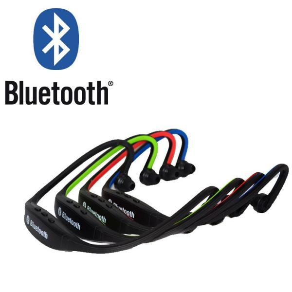 IFS9 スポーツ ステレオ ワイヤレス ブルートゥース Bluetooth ヘッドホン イヤホン for iPhone スマートフォン パソコン タブレット レッド 赤|taobaonotatsujinpro|06