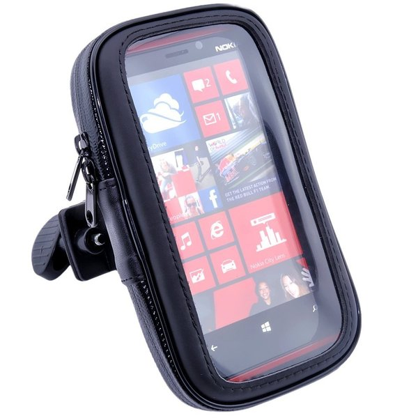 二輪バイク 原付 ミラー取付け用 (8mm ) 防水 防塵 ケース マウント ホルダー キット GPS ナビ スマホ対応 iPhone 6 Plus iPhone 6s Plus サイズ|taobaonotatsujinpro|03
