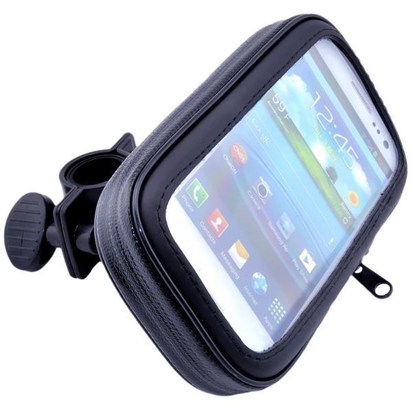 二輪バイク 原付 ミラー取付け用 (8mm ) 防水 防塵 ケース マウント ホルダー キット GPS ナビ スマホ対応 iPhone 6 Plus iPhone 6s Plus サイズ|taobaonotatsujinpro|04