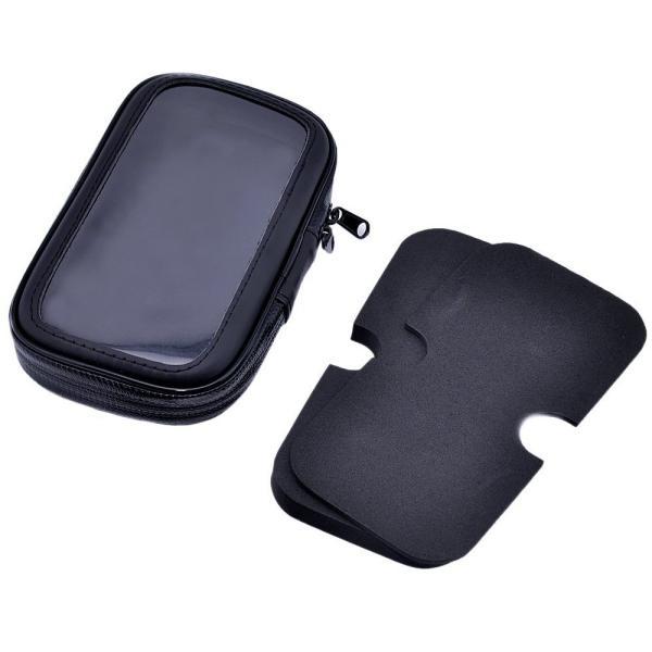 二輪バイク 原付 ミラー取付け用 (8mm ) 防水 防塵 ケース マウント ホルダー キット GPS ナビ スマホ対応 iPhone 6 Plus iPhone 6s Plus サイズ|taobaonotatsujinpro|06