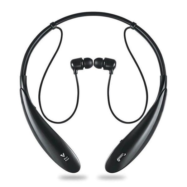 IF800 スポーツ ステレオ ワイヤレス ブルートゥース Bluetooth ヘッドホン イヤホン for iPhone スマートフォン パソコン タブレット ブラック 黒|taobaonotatsujinpro