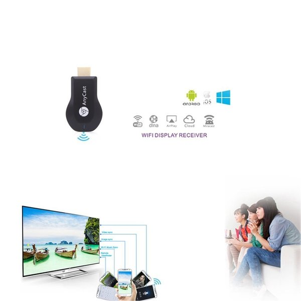 AnyCast M2 Plus Wi-Fi iPhone iPad Android ドングルレシーバー 1080P DLNA Airplay Miracast|taobaonotatsujinpro|03