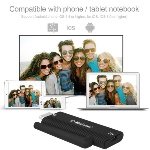 iFormosa MiraScreen 1080p DLNA Wi-Fi iPhone iPad iOS Android ドングルレシーバー Google ChromeCast HDMI 互換品 Airplay IF-B4|taobaonotatsujinpro|03