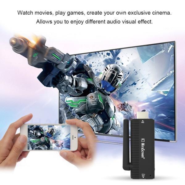 iFormosa MiraScreen 1080p DLNA Wi-Fi iPhone iPad iOS Android ドングルレシーバー Google ChromeCast HDMI 互換品 Airplay IF-B4|taobaonotatsujinpro|05