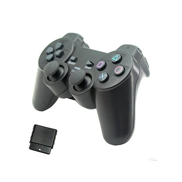 iFormosa ワイヤレス 2.4G PS2 PS3 PC パソコン 3 in 1 コントローラー ゲームパッド|taobaonotatsujinpro