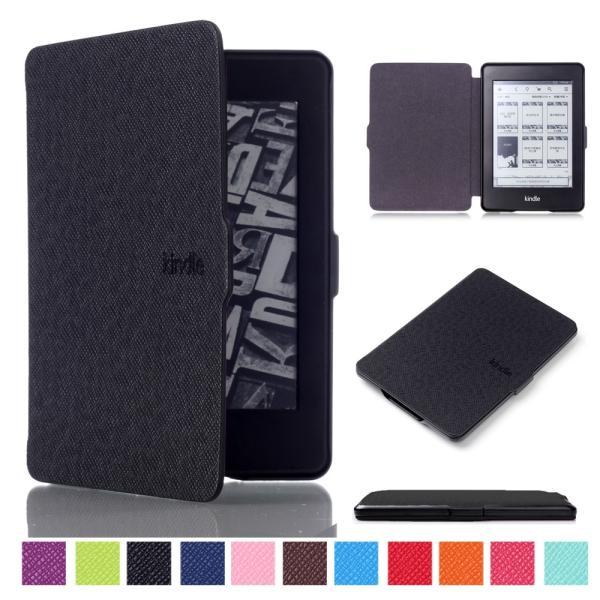 iFormosa Amazon Kindle Paperwhite用レザーカバー (Kindle Paperwhite専用)  ブラック クラシック(2017年以前対応 2018非対応) taobaonotatsujinpro 02