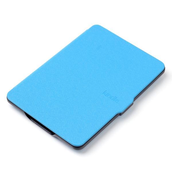 iFormosa Amazon Kindle Paperwhite用レザーカバー (Kindle Paperwhite専用)  ライトブルー クラシック(2017年以前対応 2018非対応) taobaonotatsujinpro