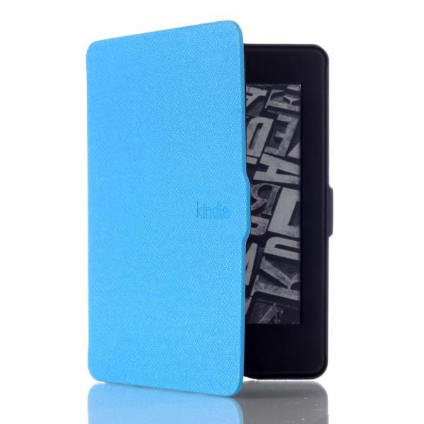 iFormosa Amazon Kindle Paperwhite用レザーカバー (Kindle Paperwhite専用)  ライトブルー クラシック(2017年以前対応 2018非対応) taobaonotatsujinpro 03