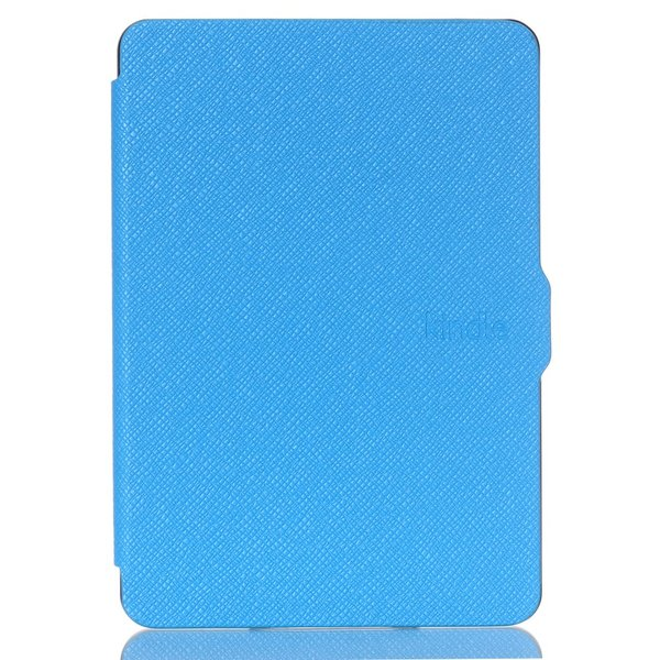 iFormosa Amazon Kindle Paperwhite用レザーカバー (Kindle Paperwhite専用)  ライトブルー クラシック(2017年以前対応 2018非対応) taobaonotatsujinpro 04
