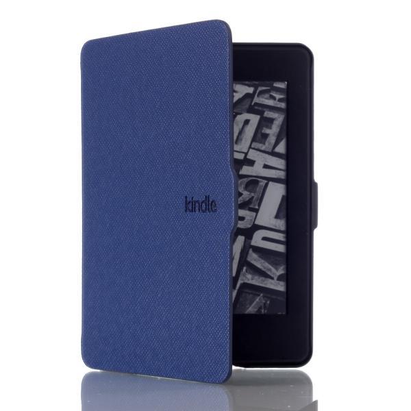 iFormosa Amazon Kindle Paperwhite用レザーカバー (Kindle Paperwhite専用)  ネイビー クラシック(2017年以前対応 2018非対応) taobaonotatsujinpro 03