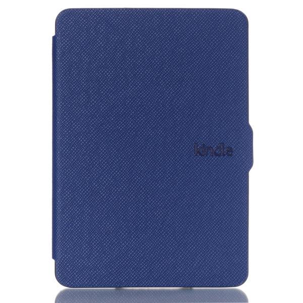 iFormosa Amazon Kindle Paperwhite用レザーカバー (Kindle Paperwhite専用)  ネイビー クラシック(2017年以前対応 2018非対応) taobaonotatsujinpro 04