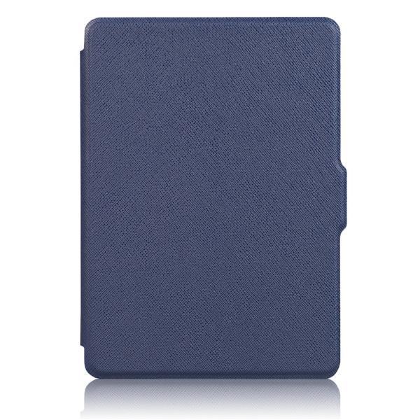 iFormosa Amazon Kindle Paperwhite用レザーカバー (Kindle Paperwhite専用)  ネイビー クラシック(2017年以前対応 2018非対応)