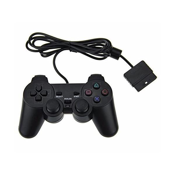 iFormosa PS2用 有線 コントローラー ブラック PS2 IF-PS2-C-WD|taobaonotatsujinpro