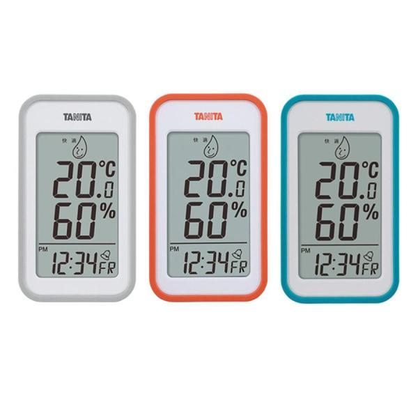 おしゃれ 温度計 置き時計TANITA タニタ デジタル温湿度計 TT-559