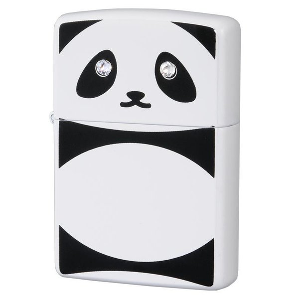 おもしろ 動物 ブランドZIPPO(ジッポー) オイルライター パンダ C クリスタル 63320798