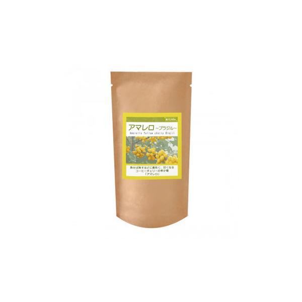 珈琲豆 シティロースト コーヒー豆銀河コーヒー ブラジル アマレロ 粉(中挽き) 150g