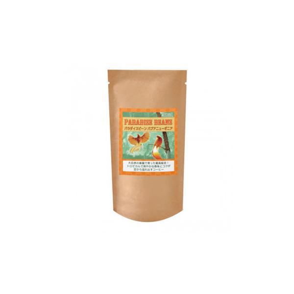 コーヒー豆 シティロースト 珈琲豆銀河コーヒー パラダイスビーン パプアニューギニア 粉(中挽き) 150g