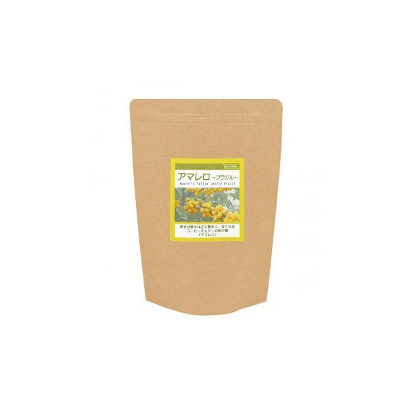 コーヒー豆 のみやすい 珈琲豆銀河コーヒー ブラジル アマレロ 粉(中挽き) 350g