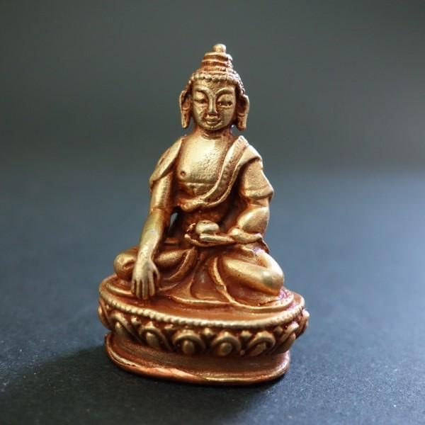 【極小仏像】釈迦如来 銅製 4cm|taradou
