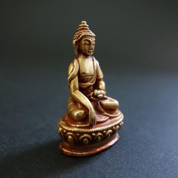 【極小仏像】釈迦如来 銅製 4cm|taradou|02