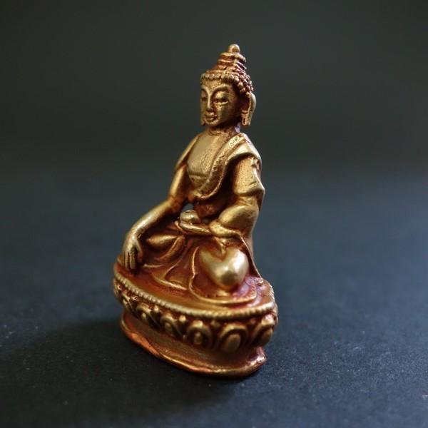 【極小仏像】釈迦如来 銅製 4cm|taradou|03