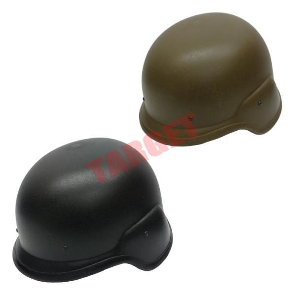 TOP フリッツヘルメット OD/BK 顎ひもなし (米軍 フリッツタイプヘルメット M88 鉄帽)