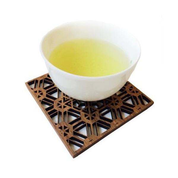 日本の伝統工芸【大川組子】風 木製角型コースター 6枚セット Aコース tasaki-corporation 02