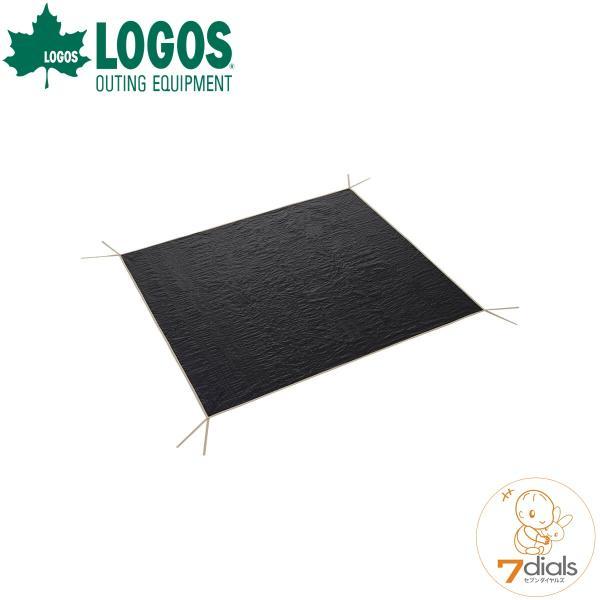LOGOS/ロゴス ぴったりグランドシート200 フロアサイズが200cmのテント用 テントの下に敷く事で冷気や湿気から防ぐ