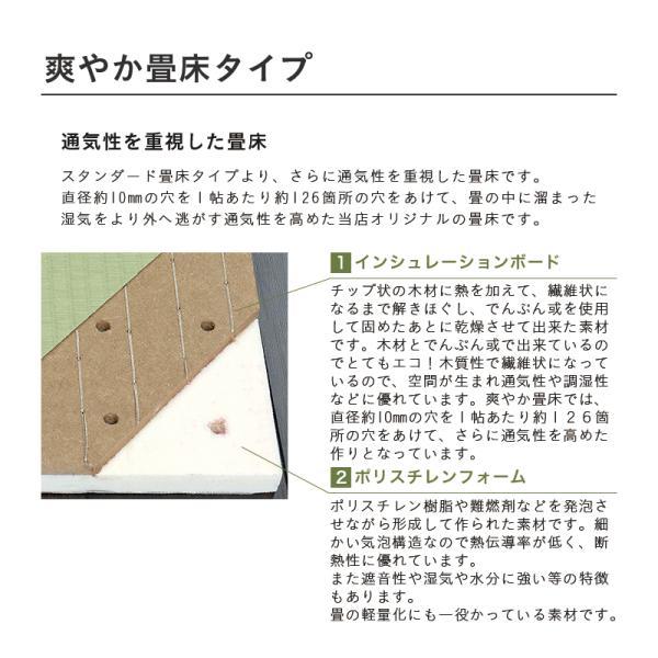 畳ベッド セミシングル 日本製 木製ベッド ヘッドレス ローベッド フロールクロス 選べる畳 爽やか畳床|tatamikouhinn|09