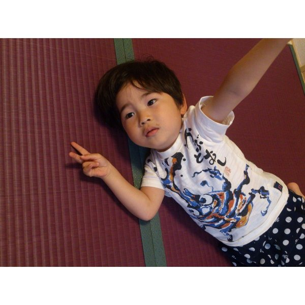 梅雨を楽しむ「紫陽花色」 半畳もの表替え(縁付き) tatamiya3 04