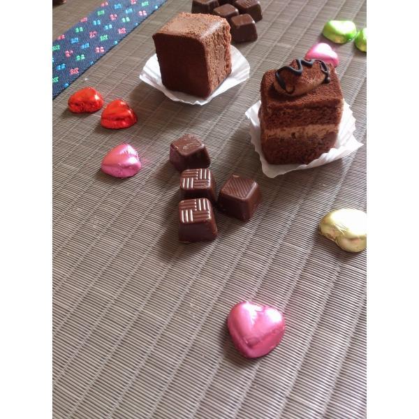 St. Valentine's day・・・「チョコレート色」 半畳もの表替え(縁付き)|tatamiya3