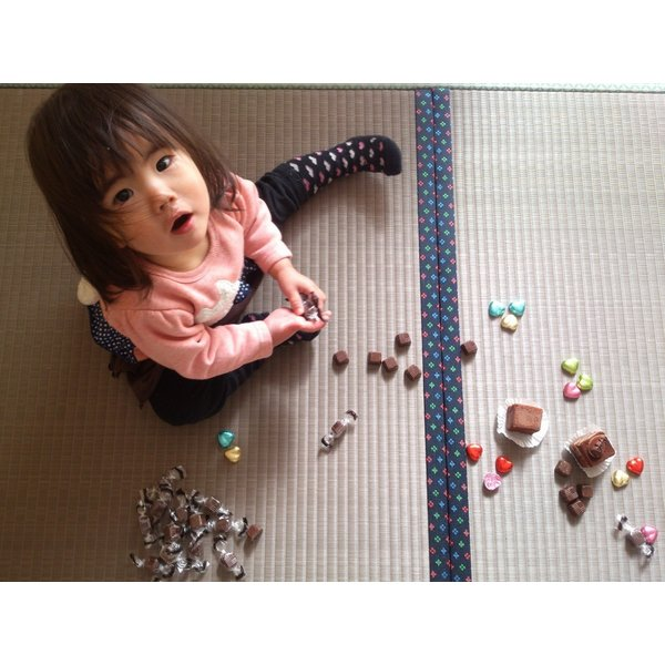 St. Valentine's day・・・「チョコレート色」 半畳もの表替え(縁付き)|tatamiya3|04